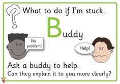 Teacher's Pet - What to do if I'm Stuck Posters - FREE Classroom Display Resource - EYFS, KS1, KS2, instructions, behaviour, stuck, independent, independence, working