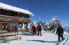 destinos de neve no norte da Itália - Cortina d' Ampezzo