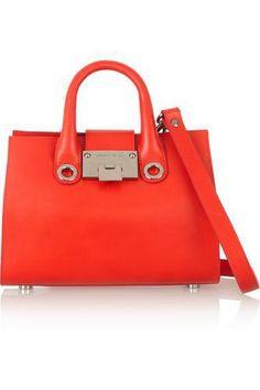 Riley mini leather and suede shoulder bag #handbag #women #covetme #jimmychoo