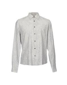 TONELLO Men's Shirt Grey 15 ¾ inches-neck
