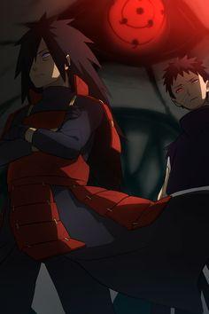 Madara and Obito