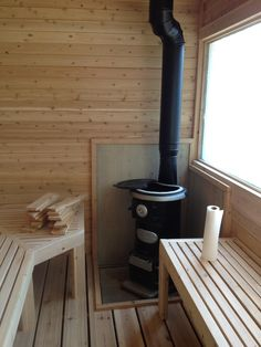 They say you shouldn't drink while using a sauna but nobody said not to drink while building one. #handmade #crafts #HowTo #DIY
