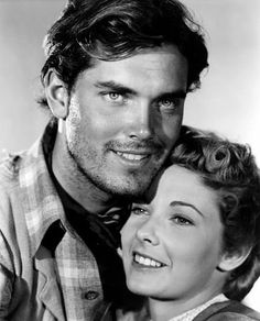 THE SEARCHERS (1956) - Jeffrey Hunter & Vera Miles - Directed by John Ford - Warner Bros.