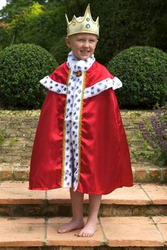 Shop for King fancy dress costumes at Totally Fancy. We stock a wide range of Royal and Historical Costumes for Children. Great Ideas for World Book Day ...  sc 1 st  Pinterest & Childrenu0027s King Nativity Costumes | Church | Pinterest | Nativity ...