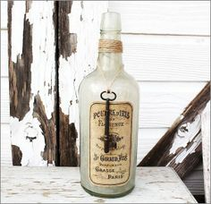 Large Vintage Bottle