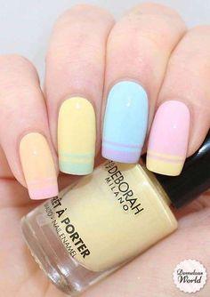 Diseños de uñas para decorar: Fotos originales (13/40)   Ellahoy