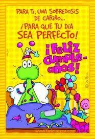 :) Que te la pases bien  !! Spanish Birthday Wishes, Birthday Wishes For Friend, Happy Birthday Messages, Happy Birthday Quotes, Bday Cards, E Cards, Birthday Greeting Cards, Birthday Greetings, Happy Wishes
