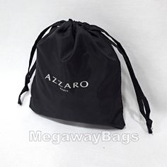Drawsting Bags Kits Event Gift Souvenir Promotional Jewellery Pouch MegawayBags #AZZARO