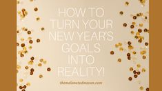 [Link in bio] It's time to make GOALS, not resolutions. Resolutions don't work unless you make smart choices! See my tips on my blog post