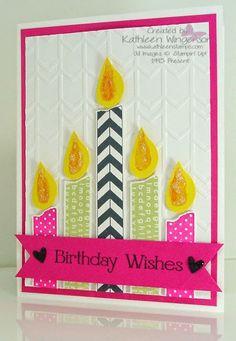 KathleenStamps: Tape It - Birthday Card - Workshop Preview #3