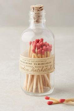 Anthropologie Skeem Mini Apothecary Matches make a great stocking stuffer or coworker gift. Best Engagement Gifts, Candle Accessories, House Accessories, Candle Craft, Unique Candles, Packaging, Terracotta Pots, Candle Making, Wine Making