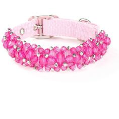 Beaded Pink Collar – LCMpet