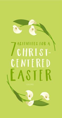 Seven activities for a Christ-centered Easter!