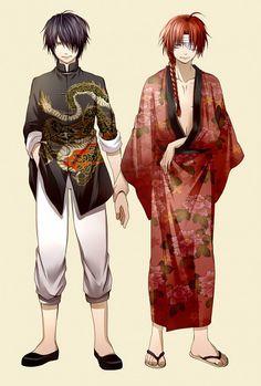 Gintama #takasugi #kamui