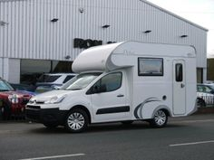 Citroen Berlingo based Debut 2 berth motorhome