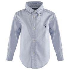 Ralph Lauren Blue Classic Pinpoint Oxford Shirt | AlexandAlexa