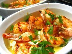 Garlic Grilled Shrimp.