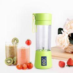 Electric Mini USB for Portable shake n take fruit juicer blender 380ml squeezer