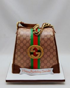 3D Gucci Handbag Cake