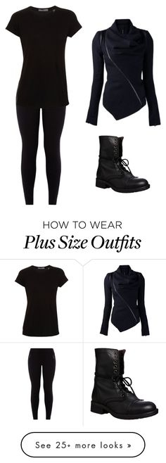 """Black for hunting through the night"" by crochetingfangirl on Polyvore featuring Vince, Steve Madden, women's clothing, women, female, woman, misses, juniors, beoriginal and shadowhunters"