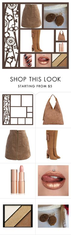 """""""Hot Coco"""" by chauert ❤ liked on Polyvore featuring INZI, Chicwish, Aquatalia by Marvin K. and Elizabeth Arden"""