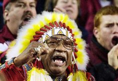 NFL Mascots....Chief Zee  Washington Redskins  I had my picture taken with him many years ago!!!