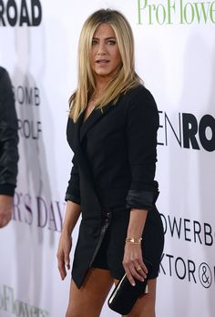 Jennifer Aniston attends the premiere of 'Mother's Day' at TCL Chinese Theatre IMAX on April 13, 2016 in Hollywood, California.