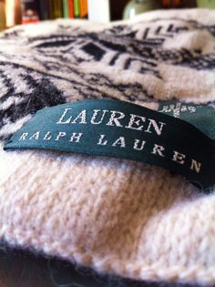 Vintage Ralph Lauren Scarf | Gorgeous Vintage 90's Ralph Lauren 100% Wool Scarf Northeastern ...