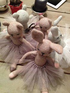 Doudous crochet by Les Petits Vintage