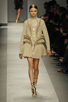 Look 33 from Givenchy Fall 2008 Ready-to-Wear Fashion Show - Magdalena…