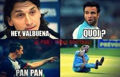 Humour : Zlatan vs Valbuena  - http://www.actusports.fr/91210/humour-zlatan-vs-valbuena/