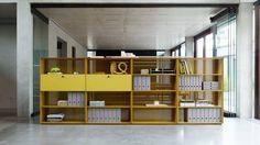 Piure I Mesh Office by Werner Aisslinger Storage Cabinets, Storage Shelves, Shelving, Shelf, System Furniture, Cabinet Furniture, Werner Aisslinger, Innovation, Modern Floating Shelves