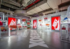 """#sneakers #news  Inside Nike's Incredible """"Out The Box"""" Exhibition At Yo'Hood"""
