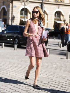 Olivia Palermo's American-Girl Take on French-Girl Style - July 6, 2015