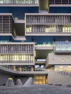 Tsinghua Ocean Center | OPEN Architecture; Photo: Zhang Chao | Archinect