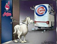 Love it!  Bye Bye goat!   #LaughingSoHard #GoCubsGo