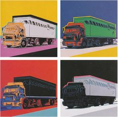 Truck, Full Suite | Andy Warhol, Truck, Full Suite (1985)