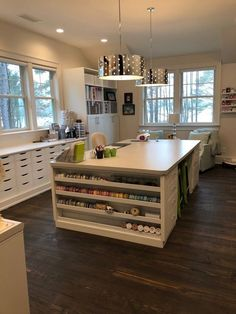 Craft Room Organization and VIDEO tour — Positively Jane Sewing Room Design, Craft Room Design, Craft Room Decor, Craft Room Tables, Basement Craft Rooms, Ikea Craft Room, Craft Space, Sewing Studio, Craft Room Organisation