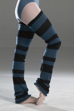 My favourite legwarmers :) Leg Warmers, High Socks, Blue Stripes, Ballet, Legs, Google Search, Products, Fashion, Moda