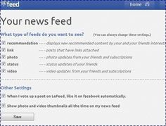 """lefeed.com: l'essentiel de facebook avec des """"j'aime pas"""""""