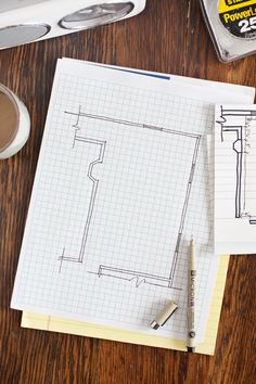 How to Draw a Floor Plan- without any special tools or computer programs!