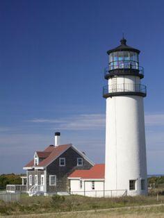Cape Cod Lighthouse, Truro, Cape Cod, Massachusetts, USA