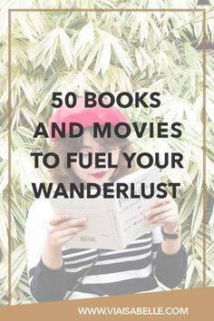 From all the movies I've seen and books I've read, here is a list of all wanderlust-filled ones that have inspired me to not only change my perception of the world, but to explore it deeper as well. I hope when you see these films or read these novels, you'll love them as much as I do. And hopefully, inspire you to search deeper into your experiences of our world.
