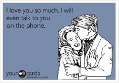 This is very true...so very, sadly true.  I'm NOT a phone person! Lol