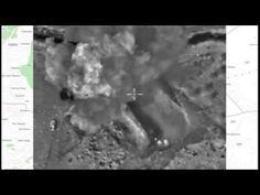 Нанесение авиаудара по укрепленному опорному пункту террористов в провин...