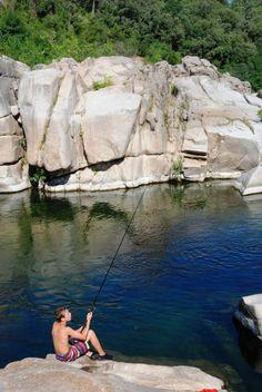 De rivier - Camping de l'Arche à Anduze Camping Gard en Cévennes