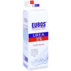 EUBOS TROCKENE Haut Urea 10 prozent Fußcreme:   Packungsinhalt: 100 ml Creme PZN: 03447871 Hersteller: Dr.Hobein (Nachf.) GmbH Preis:…
