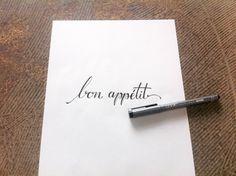 bon appétit #brush #brushpen #pen #pencil #script #custom #lettering #customlettering #type #typo #font #typism #typomania #tipografia #typografie #typography #typographie #thedailytype #typeoftheday #typooftheday #freehand #handfont #handmade #handtype #handwrite #handmadefont #handlettering #schrift #art #grafik #design #graphicdesign #kalligrafie #kalligraphy #kalligraffiti #calligrafie #calligraphy #calligraffiti #graffiti #fln #flingern #dus #dusseldorf #Düsseldorf #xyz #xyzettgraphix