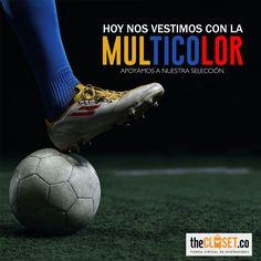 Más que ganar es apoyar las emociones que generan en nuestros corazones Selección Colombia - FCFSeleccionCol #RedDeDiseñadores #DiseñoIndependiente #TheClosetco #Futbol #Colombia #WeWon