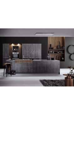 Luxury Kitchen Design, Interior Design Kitchen, Interior And Exterior, Living Room Kitchen, Kitchen Furniture, Decoration, Home And Living, Future House, Home Kitchens